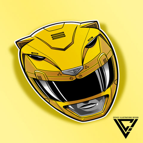 ZYU-04 Tigerranger Vinyl Decal