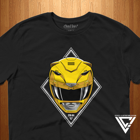 ZYU-04 Tigerranger (Black) - Unisex/Men's Tee