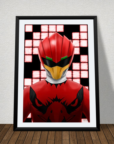 "Zyuoh Eagle - 11"" x 17"" Poster"