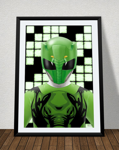 "Zyuoh Elephant - 11"" x 17"" Poster"