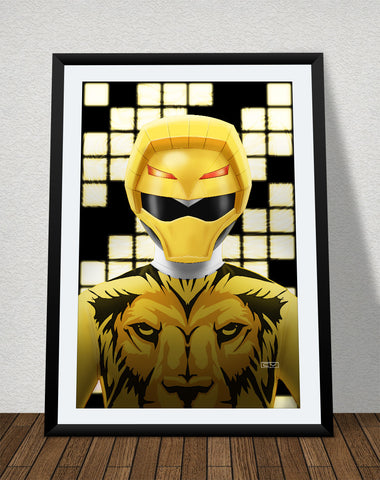"Zyuoh Lion - 11"" x 17"" Poster"