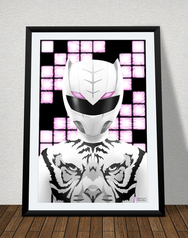 "Zyuoh Tiger - 11"" x 17"" Poster"