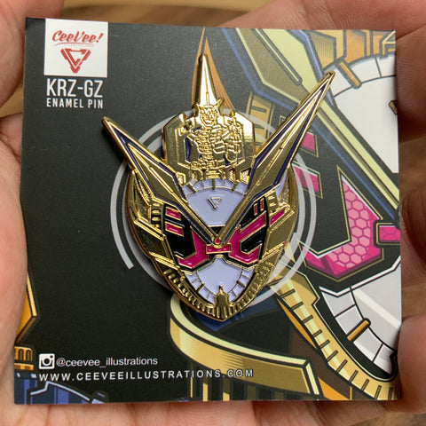 KRZ-GZ Soft Enamel Collectible Pin