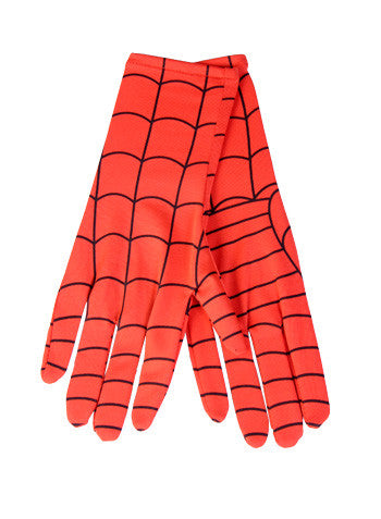 Child Deluxe Spiderman Long Gloves