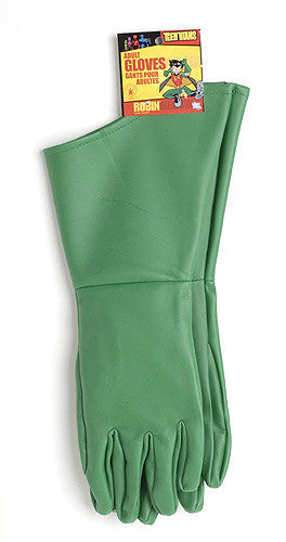 Adult Green Robin Gloves