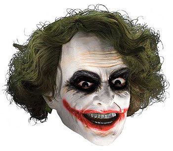 Deluxe Adult Joker Mask with Hair