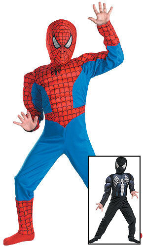 Reversible Spiderman Venom Costume