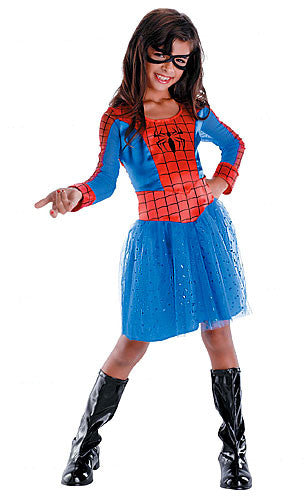 Childrens Spidergirl Costume