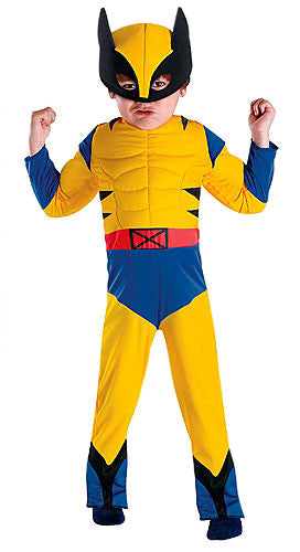 Boys Toddler Wolverine Costume