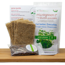 Peas Please Microgreen Grow Kit (Refill Kit)
