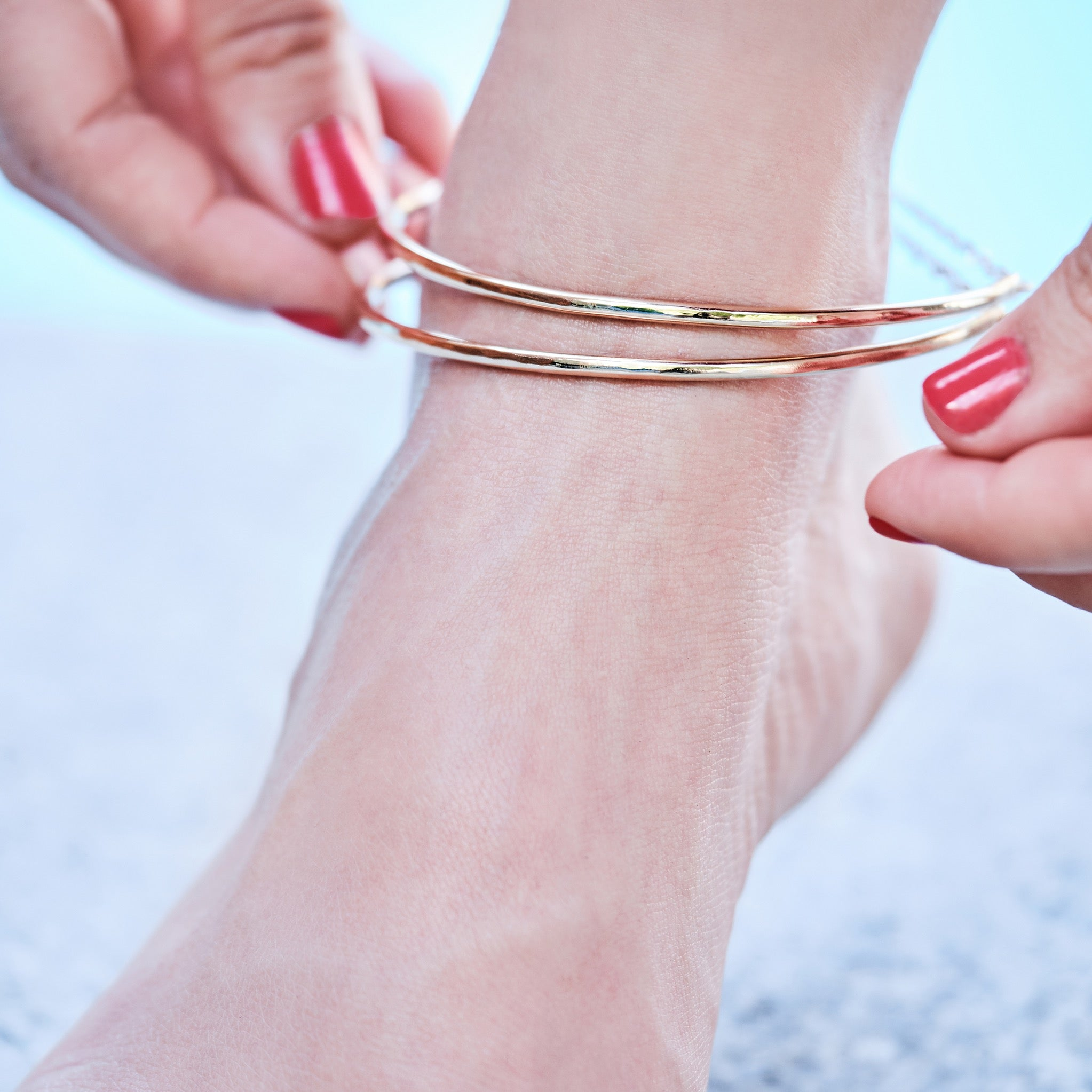 Vol. 4 - 2019 - SUMMER GOLD ANKLET BANGLE