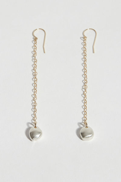 Rock Chain Earrings
