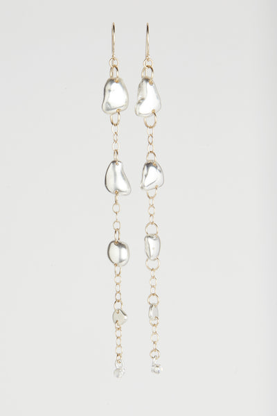 Washed Away Rock Earrings