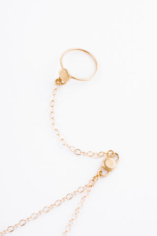 Related product : Mini Gold Coco Ring Bracelet