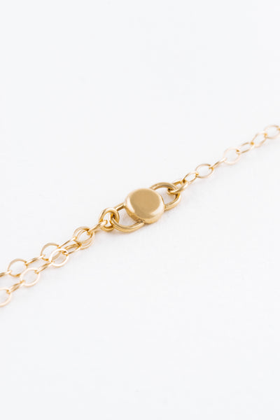 Mini Gold Coco Ring Bracelet