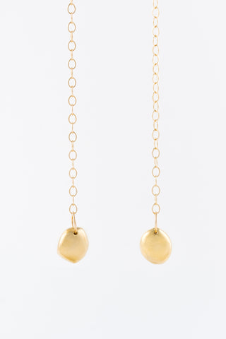 Related product : Gold Rock Chain Earrings