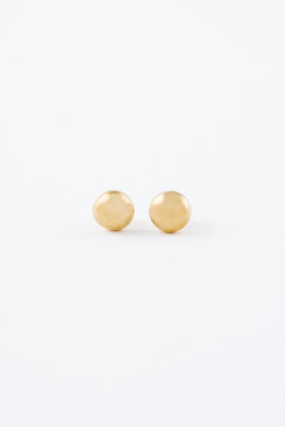Mini Gold Rock Studs