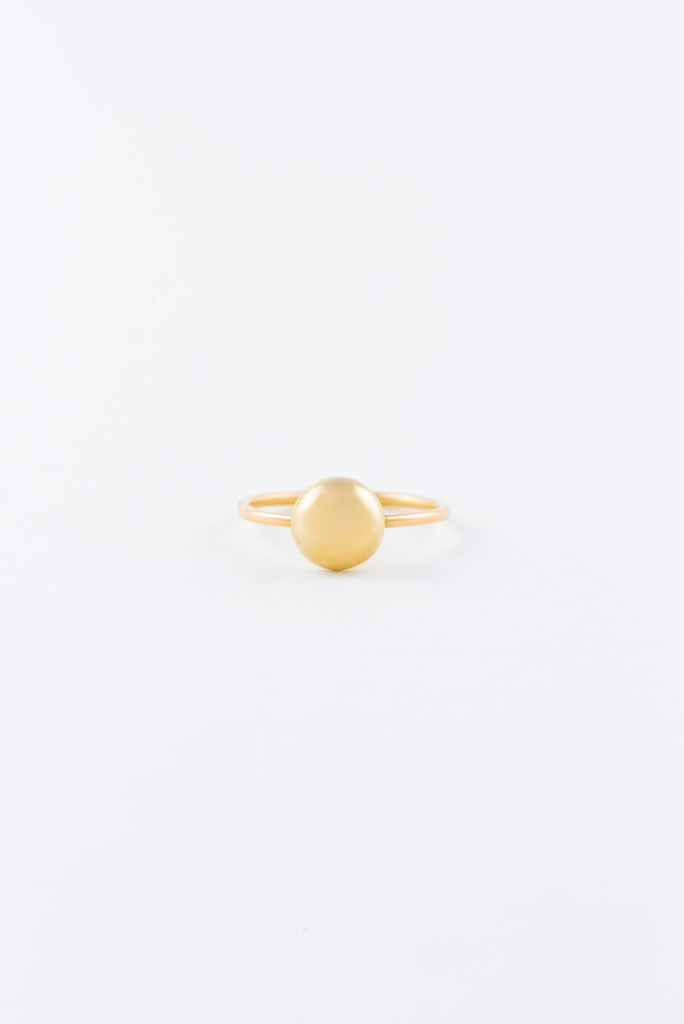 Mini Gold Rock Ring