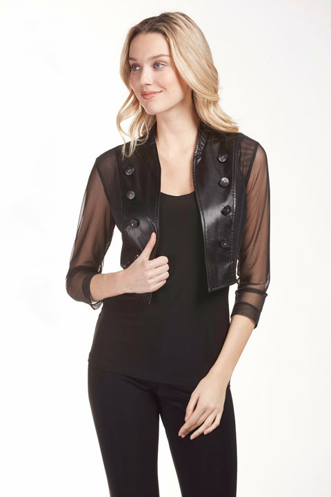 Frank Lyman Crop Jacket