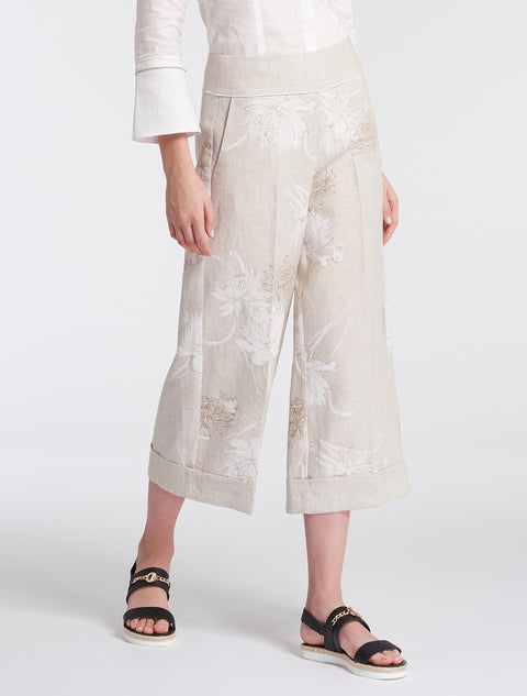 Penny Black Latino Linen Trousers