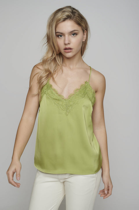Rino & Pelle Camisole with Lace Trim