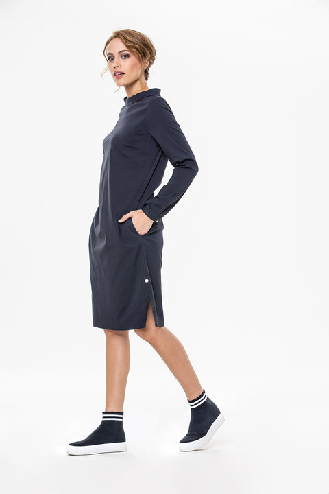 Milano Italy Navy Dress