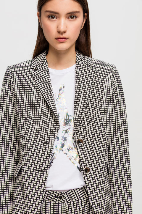Luisa Cerano Checked Blazer