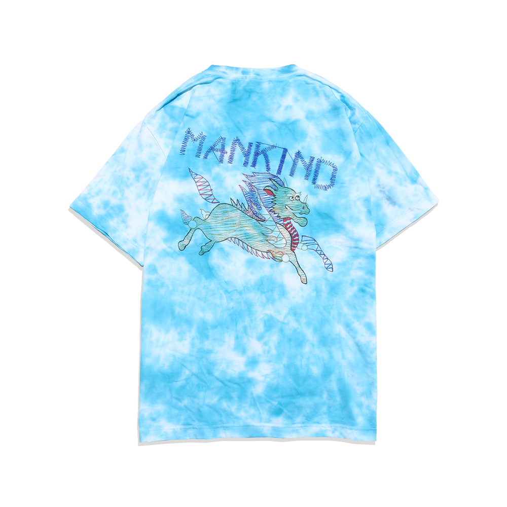 Load image into Gallery viewer, JADE TIE-DYE - SHORTSLEEVE TSHIRT