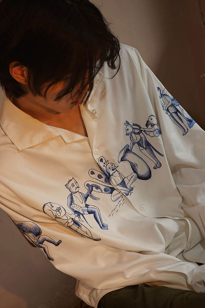 Load image into Gallery viewer, FOLKLORE - LONGSLEEVE SHIRT
