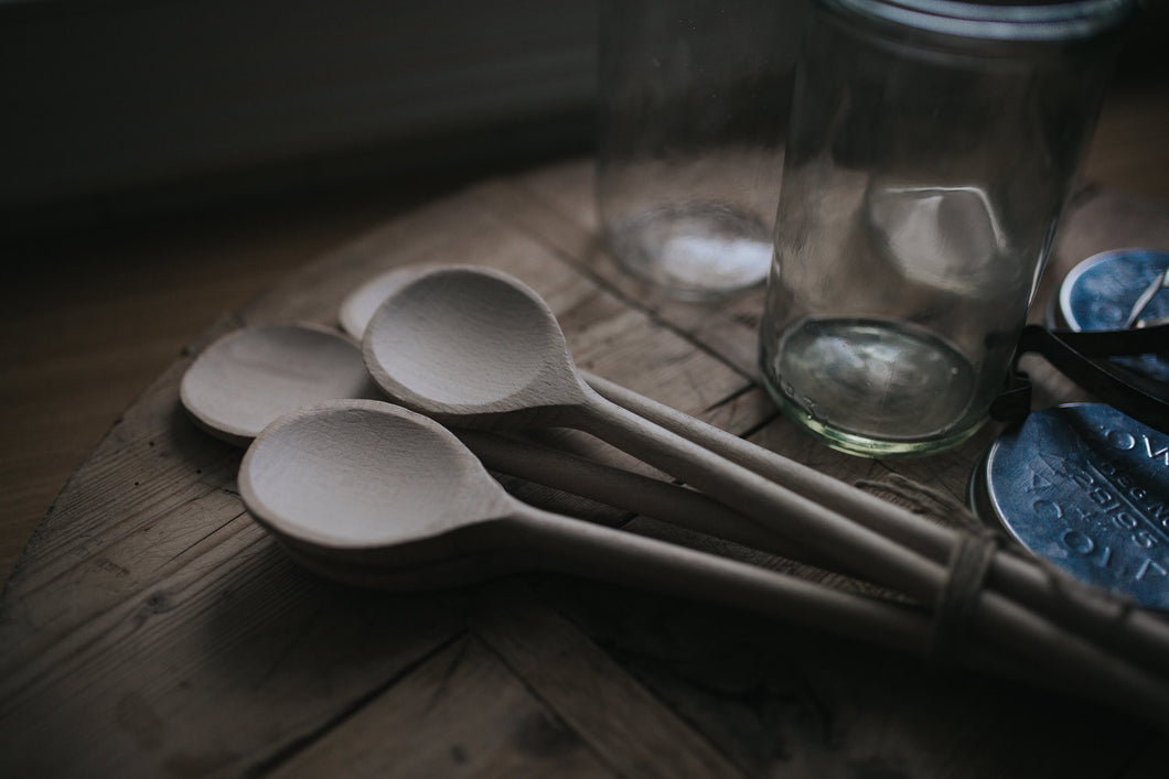Jam spoon, wooden