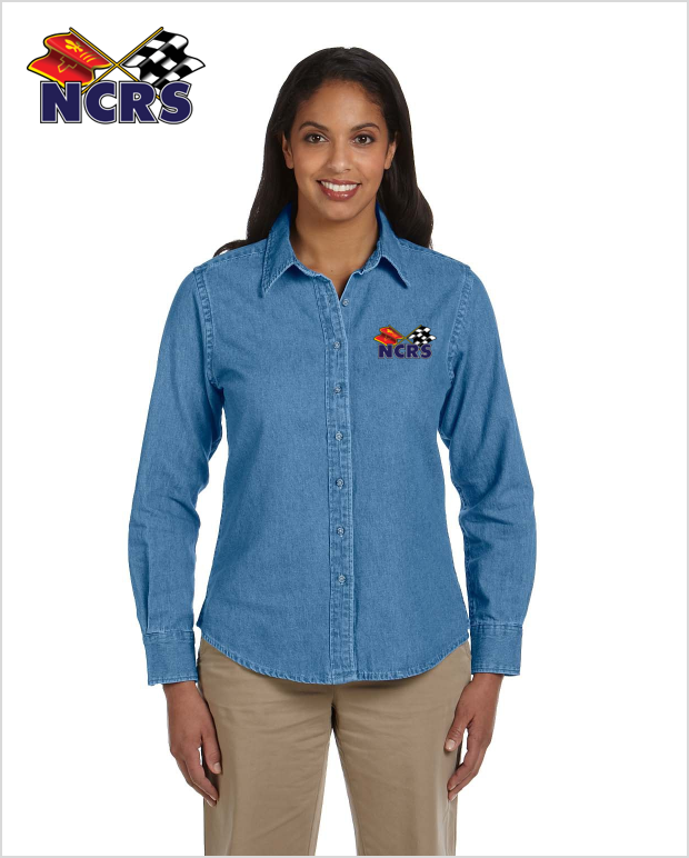 NCRS Ladies Denim Shirt