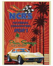 2021 NCRS CONVENTION Cotton T-shirt (full logo printed on BACK)