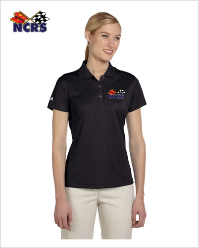 NCRS Ladies Adidas Performance Moisture Polo