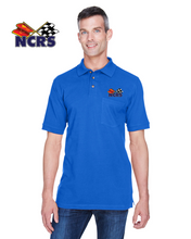 NCRS Cotton Blend POCKET Pique Polo