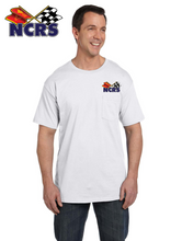 NCRS Cotton Embroidered POCKET T-shirt (Left chest logo embroidered)