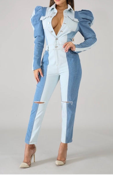 Ready For it Denim Jumpsuit