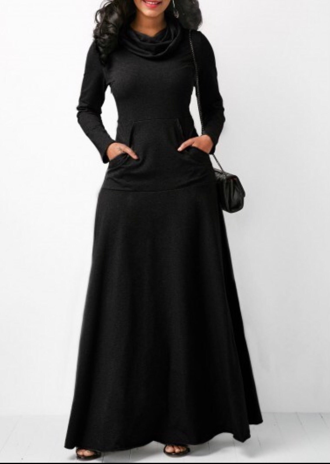 Maxi dress with Pockets