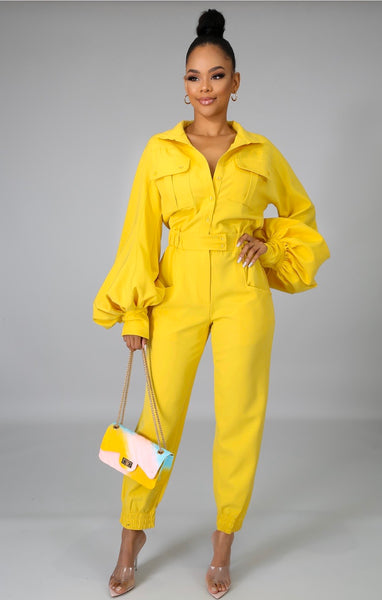 Sunrise Cargo Jumpsuit