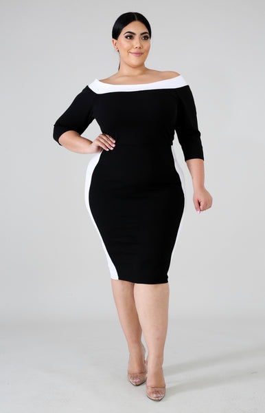 So Devine Body-con Dress
