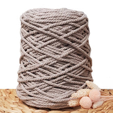 5mm Recycled Cotton Macrame Cord - Mink