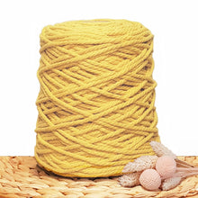 5mm Sunflower - Recycled Cotton 3ply Macrame Cord