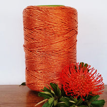 Copper Metallic Shimmer Macrame String - 3mm