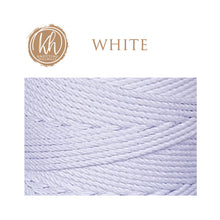 4.5mm 4-strand Cotton Macrame Rope - White