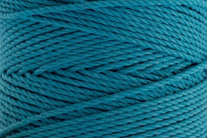 4mm 3 ply Cotton Macrame Rope - Azure