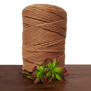 Amber Luxe Cotton Single Twist Macrame Cord 1kg