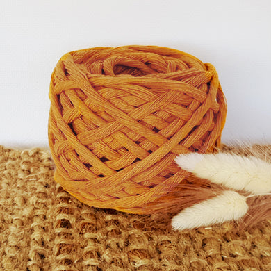 Lil' Luxe Recycled Cotton - 5mm Caramel - 25 metres