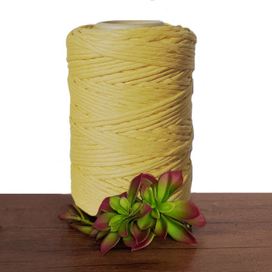 Daffodil Luxe Cotton Single Twist Macrame Cord 1kg