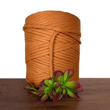 Burnt Orange Luxe Cotton 5mm Macrame String