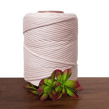 Peach Dust Single Twist De Luxe Macrame Cord 5mm - 1kg