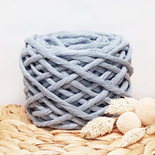 Lil' Luxe Recycled Cotton - 5mm Nimbus Blue - 25 metres